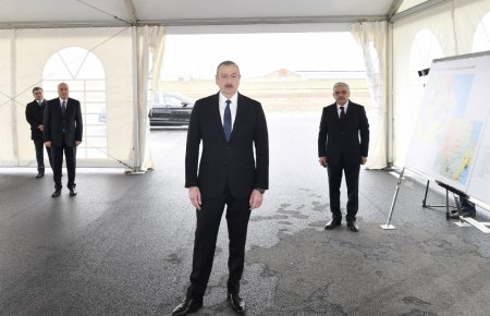 Prezident İlham Əliyev açılış etdi - FOTOLAR