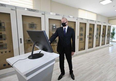 İlham Əliyev Bakıda açılışda - FOTO