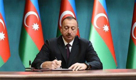 İlham Əliyev sərəncam imzalandı