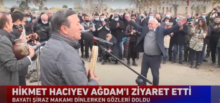 Milli Məclisin deputatı Ağdamda belə rəqs etdi - VİDEO