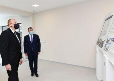 İlham Əliyev açılışda iştirak etdi